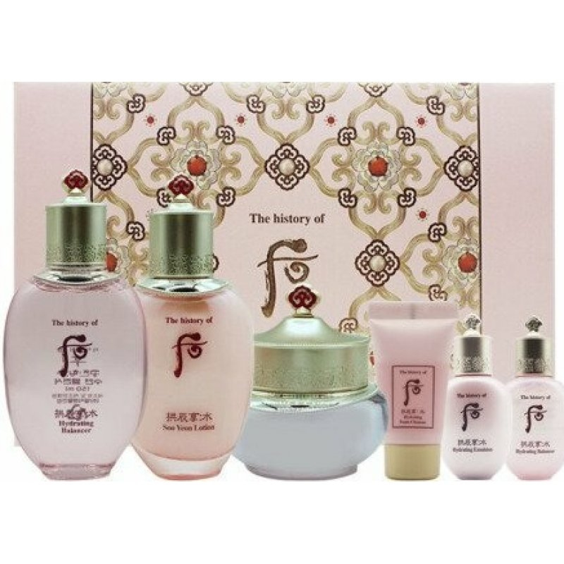 The history of Whoo Gongjinhyang Hydrating Set + FREE Gift 拱辰享 水妍系列礼盒