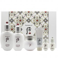 The history of Whoo Gongjinhyang Whitening Set + FREE Gift 拱辰享 雪美白系列3件礼盒